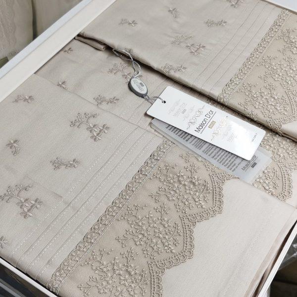 купить Постельное белье Maison Dor JNDILA SIMONE BEIGE Бежевый фото