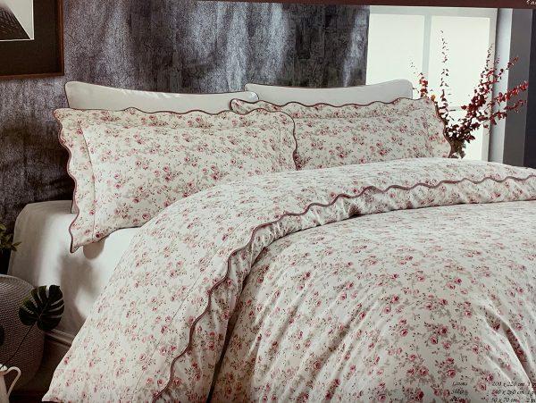 купить Постельное белье Maison Dor LADY ROSES ECRU Розовый фото