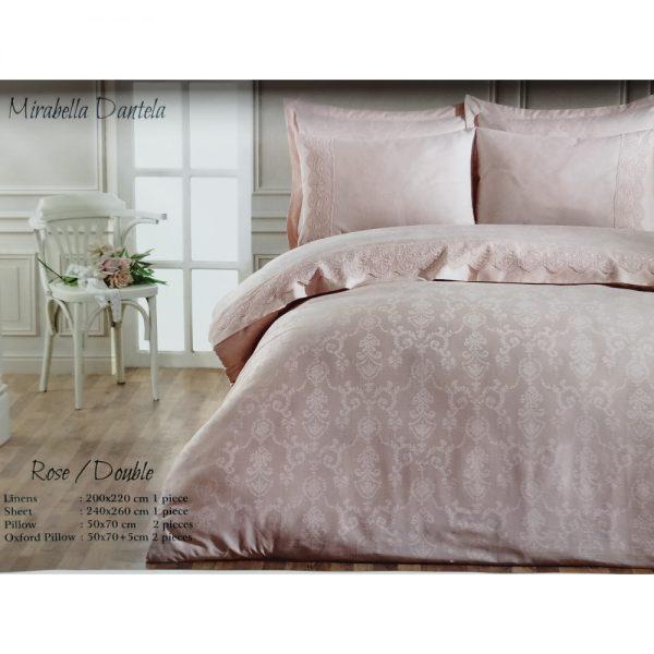 купить Постельное белье Maison Dor - MIRABELLA DANTELA ROSE Розовый фото