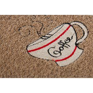 купить Полотенце кухонное Lotus вышивка - Cup Coffee