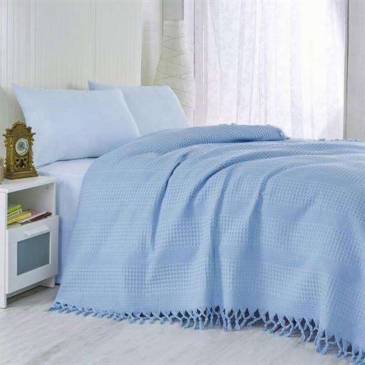 купить Покрывало-плед LightHouse Checkers Голубой