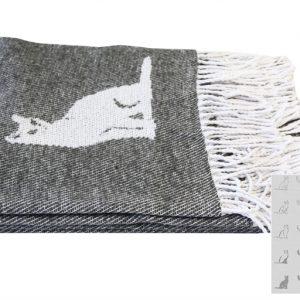 купить Плед CATS Серый