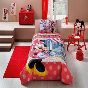 купить Покрывало с наволочкой TAC Disney Minnie Tea Time