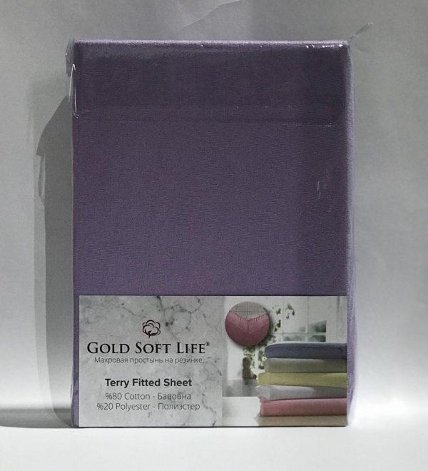 купить Простынь махровая на резинке Gold Soft Life Terry Fitted Sheet