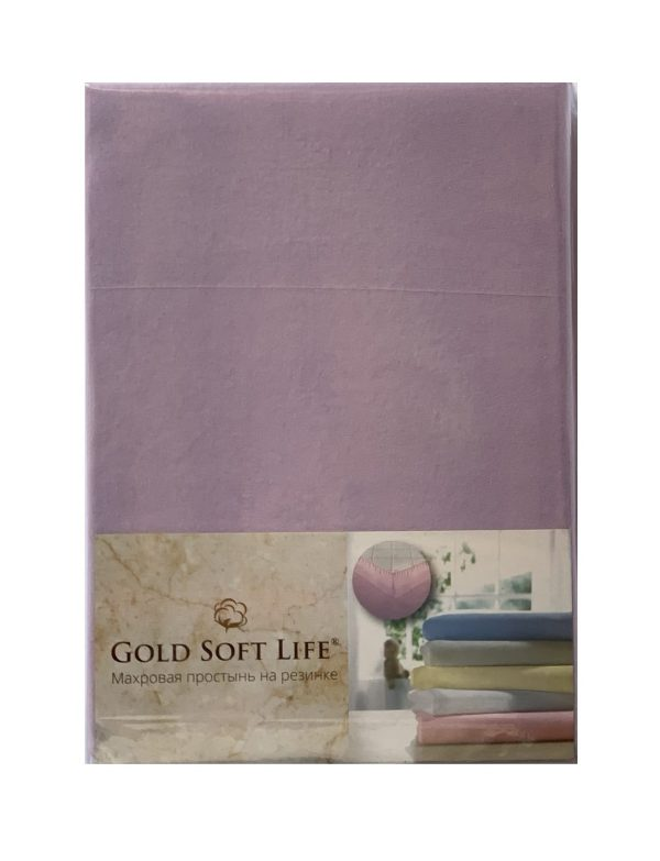 купить Простынь трикотажная на резинке Gold Soft Life Terry