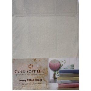 купить Простынь трикотажная на резинке Gold Soft Life Terry Fitted Sheet Серый