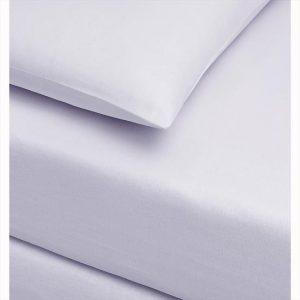 купить Простынь трикотажная на резинке с наволочками TAC Jersey Fitted Carsaf takimi Белый