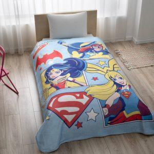 купить Детский плед-покрывало TAC Disney SuperHero Girls