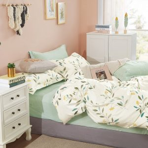 купить Постельное белье Bella Villa Сатин B-0262 Зеленый фото