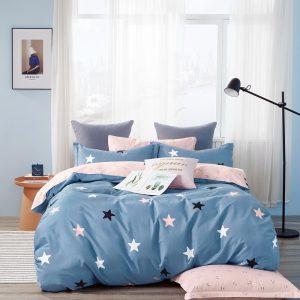 купить Постельное белье Bella Villa Сатин B-0264 Синий фото
