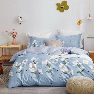 купить Постельное белье Bella Villa Сатин B-0265 Голубой фото