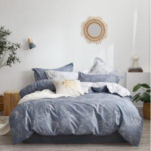 купить Постельное белье Bella Villa Сатин B-0266 Синий фото