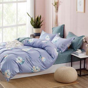 купить Постельное белье Bella Villa Сатин B-0267 Фиолетовый фото