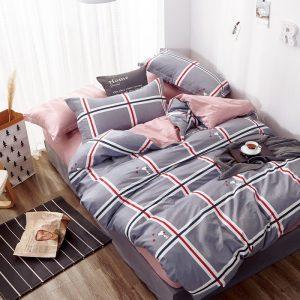 купить Постельное белье Bella Villa Сатин B-0268 Сиреневый фото