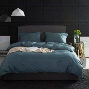 купить Постельное белье Bella Villa Сатин B-0272 Синий фото