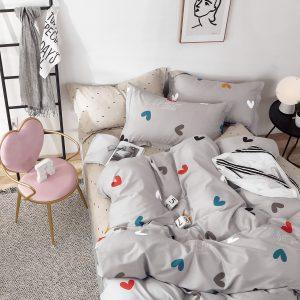купить Постельное белье Bella Villa Сатин B-0274 Серый фото