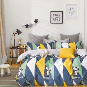 купить Постельное белье Bella Villa Сатин B-0276 Синий фото
