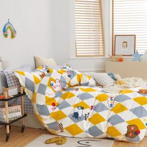 купить Постельное белье Bella Villa Сатин B-0277 Желтый фото