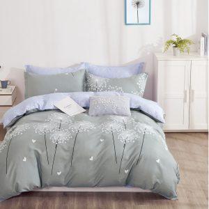 купить Постельное белье Bella Villa Сатин B-0278 Серый фото