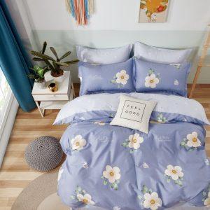 купить Постельное белье Bella Villa Сатин B-0285 Фиолетовый фото