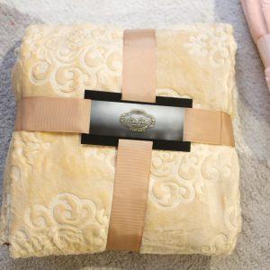 купить Плед микрофибра Bella Villa С-0057 Желтый фото