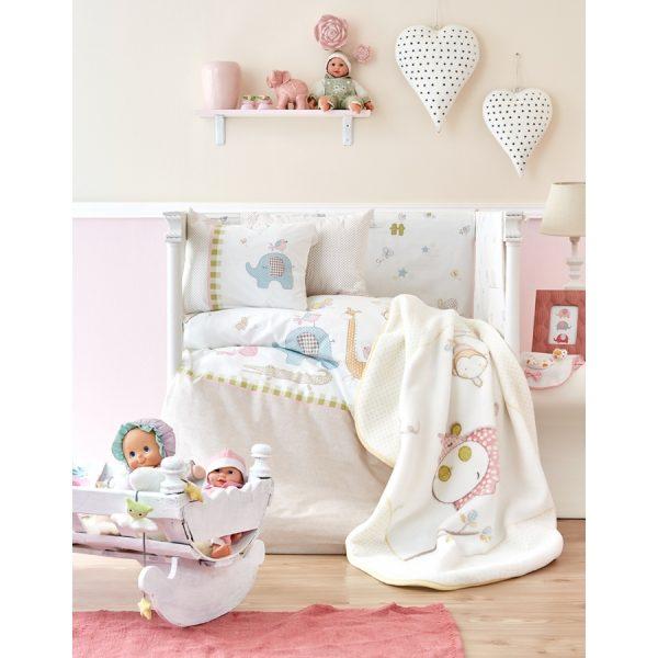 купить Детский плед в кроватку Karaca Home - Playmate 2018-1