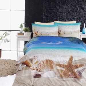 купить Постельное белье First choice vip сатин 3d ocean Бежевый фото