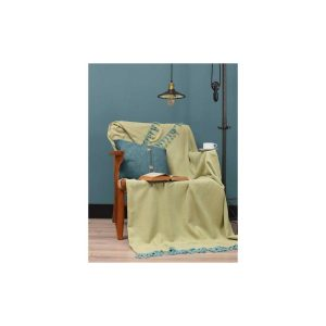 купить Плед Eponj Home - Iplik Sari-Mint