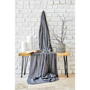 купить Плед вязанный Karaca Home - Sofa gri