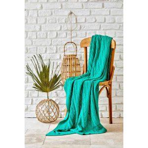 купить Плед вязанный Karaca Home - Sofa yesil