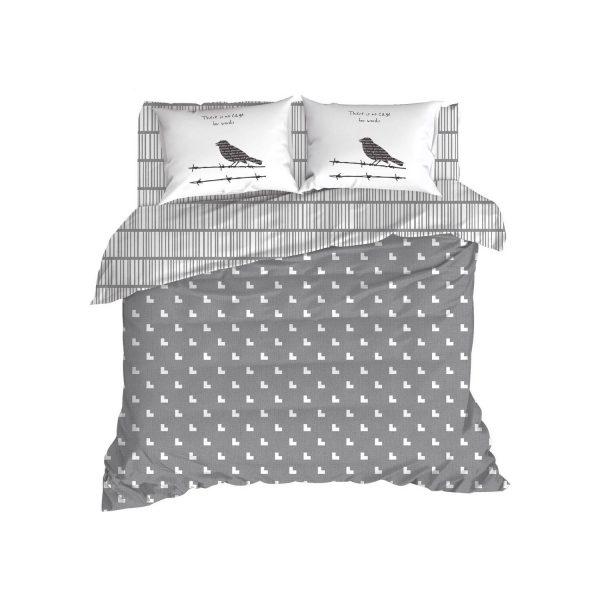 купить Постельное белье Enlora Home - Vektor gri Серый фото