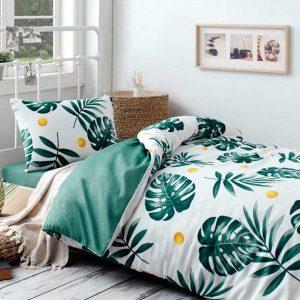 купить Постельное белье Eponj Home - Monstera Yesil Зеленый фото