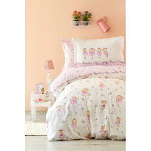купить Постельное белье Karaca Home - Balerin 2018-1 Розовый фото