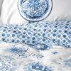 купить Постельное белье Karaca Home - Felinda mavi 2019-2 Голубой фото 94592