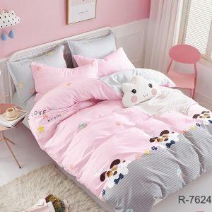 купить Постельное белье TAG R7624 pink Розовый фото