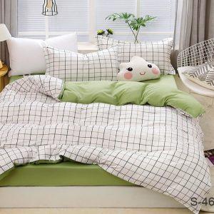 купить Постельное белье TAG S462 Серый|Зеленый фото