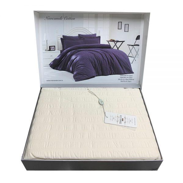 купить Постельное белье Maison Dor - Camile Кремовый фото