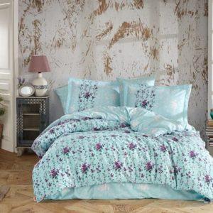 купить Постельное белье HOBBY Poplin Cloudia Голубой фото