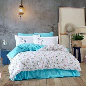 купить Постельное белье HOBBY Poplin Orient Голубой фото