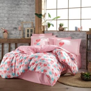 купить Постельное белье HOBBY Poplin Lavida red Розовый фото