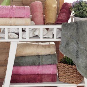 купить Набор махровых полотенец Sikel Bamboo Sultan 6 шт