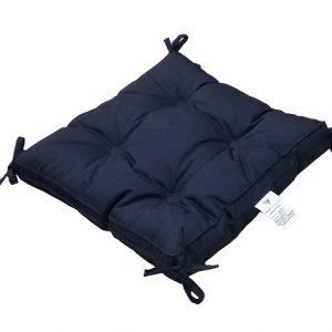 купить Подушка для стула Vende Classic с завязками синий Синий фото