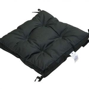 купить Подушка для стула Vende Classic с завязками хаки Серый|Черный фото