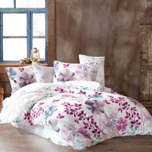 купить Постельное белье Linda ранфорс Mira Розовый фото