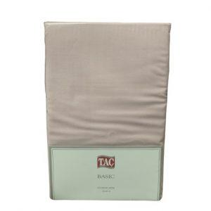 купить Простынь TAC ранфорс Basic 240x260 розовый Розовый фото