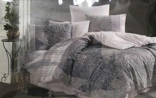 купить Постельное белье Zugo Home ранфорс Laodi Серый фото