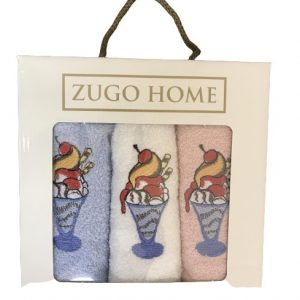 купить Набор кухонных полотенец Zugo Home Десерт V1 3 шт  фото