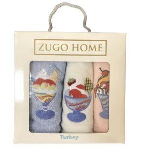 купить Набор кухонных полотенец Zugo Home Десерт V2 3 шт  фото