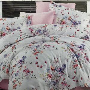 купить Постельное белье Zugo Home сатин Alice V01 Розовый фото