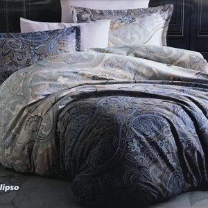 купить Постельное белье Zugo Home сатин Calipso Серый фото